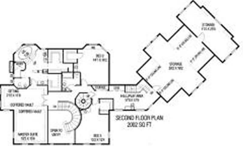 Luxury Country Ranch House Plans Home Design 408 12 7654